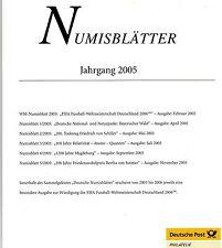 Numisblätter - Jahrgang 2005 - mit Beschreibungen ( ÜF10 )