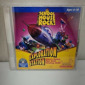 School House Rock Exploration Station CD Rom The Learning Company
