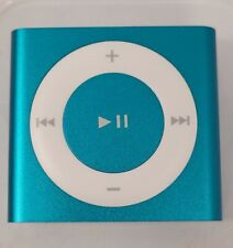 Apple iPod Shuffle 4th Generation 2Gb Blue A1373 Md751Ll/A Mp3 Player Open Box