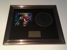 SIGNED/AUTOGRAPHED LABRINTH - ELECTRONIC EARTH FRAMED CD PRESENTATION. RARE.