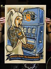 Blink 182 6/30/2012 Max Schmeling Halle Berlin Poster signiert & nummeriert #105