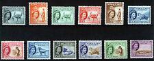 SOMALILAND 1953 DEFINITIVES SG137/148 MNH