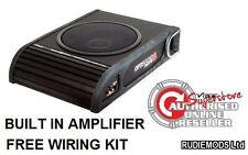 Vibrador optisound Amplificado Activo underseat coche Subwoofer de 8 Pulgadas 300w Rms