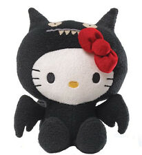 "GUND Hello Kitty X Ugly Doll 7"" Black ICE BAT Limited Ed. Super Soft Plush NWT"