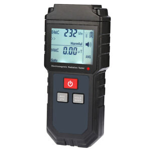 LCD EMF Meter Electromagnetic Field Radiation Tester Detector For Phone FN