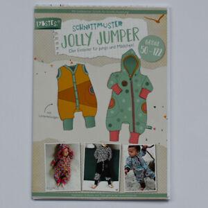 Papier Schnittmuster Lybstes - Jolly Jumper - Größen 50-122