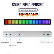 32LED RGB Auto Sound Control sprachgesteuerte Tonabnehmer Musik Rhythmus Licht