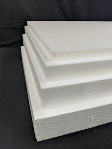 Medium Density Polystyrene Sheets 4ft x 2ft xVarious Depths- Packing/Insulation