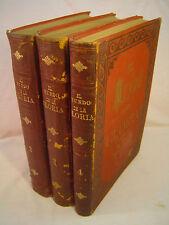 EL MUNDO DE LA GLORIA [Glory of the World],vol. 2-4 ONLY, chromolithos! [1890]