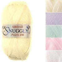 Sirdar Snuggly Pearls DK Shimmer Double Knitting Knit Crochet Crafts 50g Ball