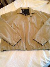 Polo Ralph Lauren Warm Flannel Lined Landon Jacket Large 90's