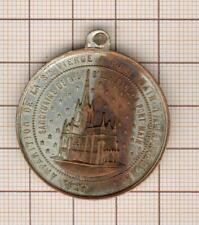 Mayenne 1871 Medaille Religiöse Apparition Von Die Ste Schurwolle Bis Deck Hand