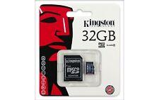 Kingston Classe 4 32 Go carte Micro SD pour Samsung Nintendo DSi XL 3 DS LITE WII U