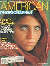 Americano Fotógrafo Diciembre 1987 Steve Mccurry Cornell Capa con / ML 042120DBE