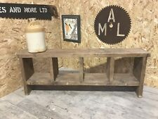 4 Hole Rustic Up-Cycled Bench.