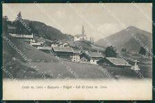 Belluno Rocca Pietore Laste Soppera Dagai Col di Lana cartolina QT1296