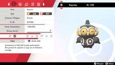 Pokemon KAORINE shiny 6IV + masterball - Battle Ready - Epée/Bouclier