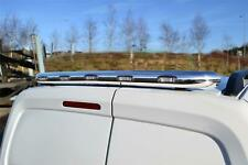 To Fit 2017+ Volkswagen Crafter Stainless Steel Rear Roof Light Bar + LEDS