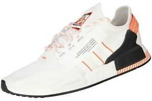 adidas NMD_R1 V2 Herren Schuhe Neu Freizeit Sneaker Weiß Herrenschuhe adidas