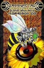 Bassnectar Concert Poster Band Gig Handbill  Mark Serlo - NEW, 11x17