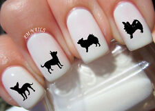 Chihuahua Nail Art Stickers Transfers Decals Set of 38