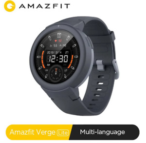 In stock Global Amazfit Verge Lite Smartwatch IP68 GPS GLONASS  for Android iOS