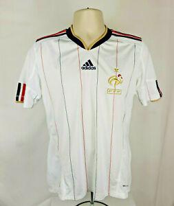 adidas ClimaCool~FFF France National Team~Away Soccer Football Jersey~Mens M ?