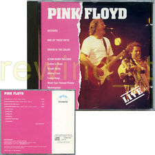 "PINK FLOYD ""LIVE"" RARE CD ITALY 1993"