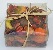 "Potpourri ""Kürbis"" orange/natur 14,5x14,5x7,5cm Düfte Aroma Dekoration"