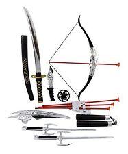 Ninja Warrior Bow & Arrow Archery Set for Kids with Katana Sword and Toy ...