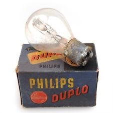 Philips Duplo Light Bulb 6-25 BA15d 6712W NOS