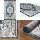 Vintage Collection Barclay Navy 3 Ft. X 4 Ft. Medallion Area Rug