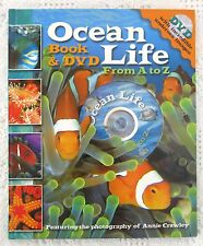 Ocean Life A to Z Book & DVD in English / Spanish - Incredible Undersea Images!