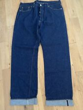 Levis 501xx vintage 1937 cinch back selvedge Big E  jeans W 40 L 38 Made in USA