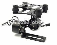 2 Axis Brushless Gimbal CNC ALU Camera Mount w/ Motor for Gopro2 3 DJI Phantom 2