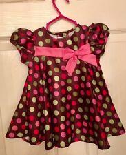 Adorable Polka Dot Baby Dress (Size 3-6 mo.)