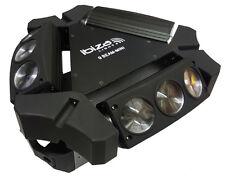 "IBIZA Light ""9BEAM-MINI"" 9x 10 Watt RGBW CREE LED Spider Effekt! Center Light!"