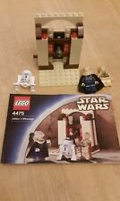 LEGO Star Wars Rare 4475 Jabbas Message - Complete with Instructions Bib Fortuna