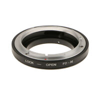 Manual Mode Lens Adapter Ring for Canon FD Lens to Nikon AI/F Mount Camera