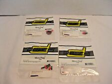 Deans 2-Pin Micro Plugs 2NB WSD1225 Lot of 4 New