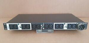 IBM 97P6221 RACK PDU BASIC 1U 30A 208V L6-30P 10XC13 P/N H85817 !