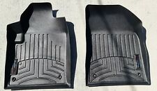 WeatherTech Floor Mats FloorLiner for Dodge Dart - 2013-2016 - 1st Row - Black