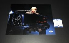 PIANO MAN BILLY JOEL SIGNED 11X14 PHOTO AUTHENTIC AUTOGRAPH BECKETT BAS COA