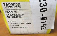 Cadweld TAC2C2Q Mold