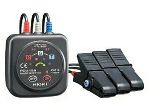 HIOKI PD3129 Phase Rotation Meter from Japan With Tracking