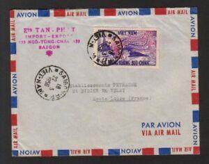 Vietnam, 1956 Postal History, Collectible Envelop, No Letter Inside