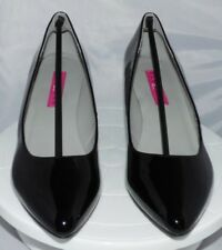 Pleaser Pink Label KIT01/B Tribunal Zapatos Negro (negro Pat) UK 8 Gratis P&P continental del Reino Unido