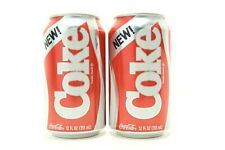 NEW! Coke 1985 Formula - 2019 Stranger Things Limited Edition | 2 Cans Unopened