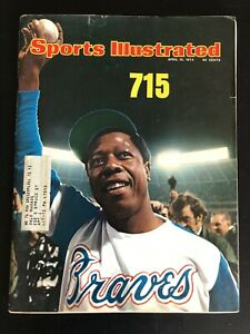 April 15 1974 Sports Illustrated Magazine Hank Aaron Braves Home Run #715