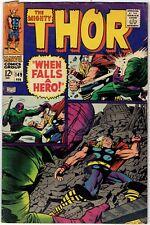 The Mighty Thor #149 Loki Inhumans Origin 1967 Stan Lee Jack Kirby